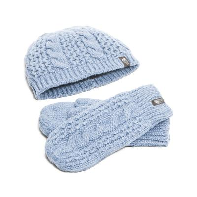 The North Face Cable Minna Collection Beanie/Mittens Women's
