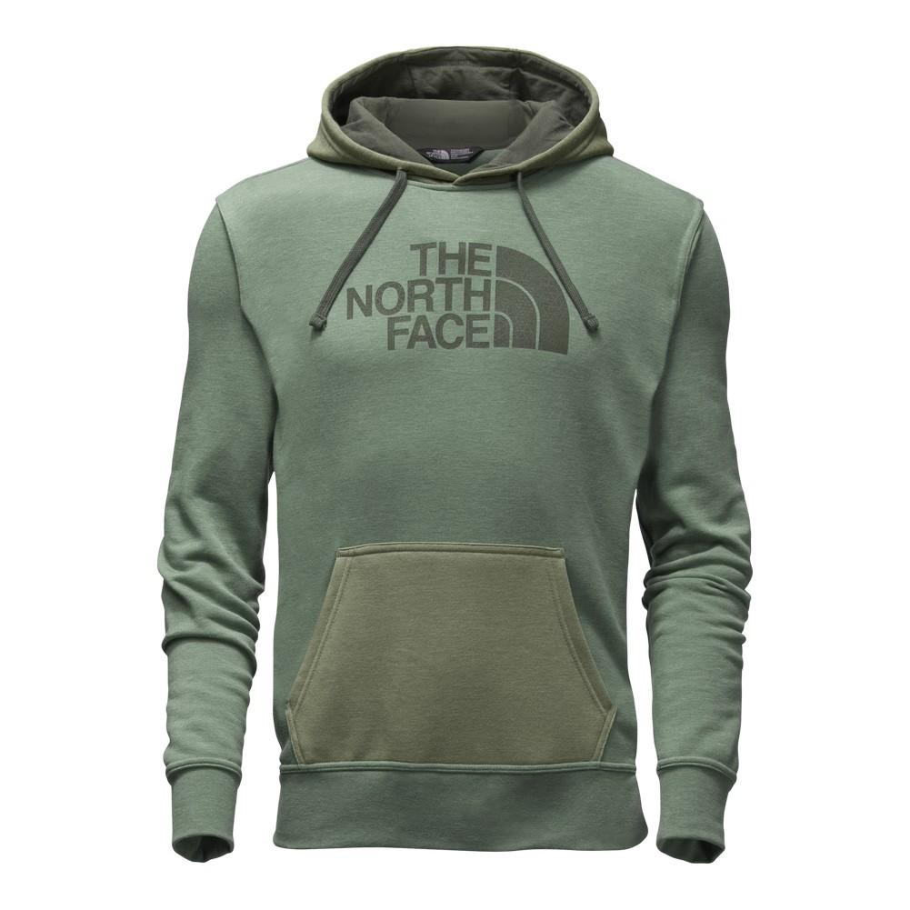 044349a577 The North Face Mac-Vey Pullover Hoodie Men's Duck Green Light Heather (STD)