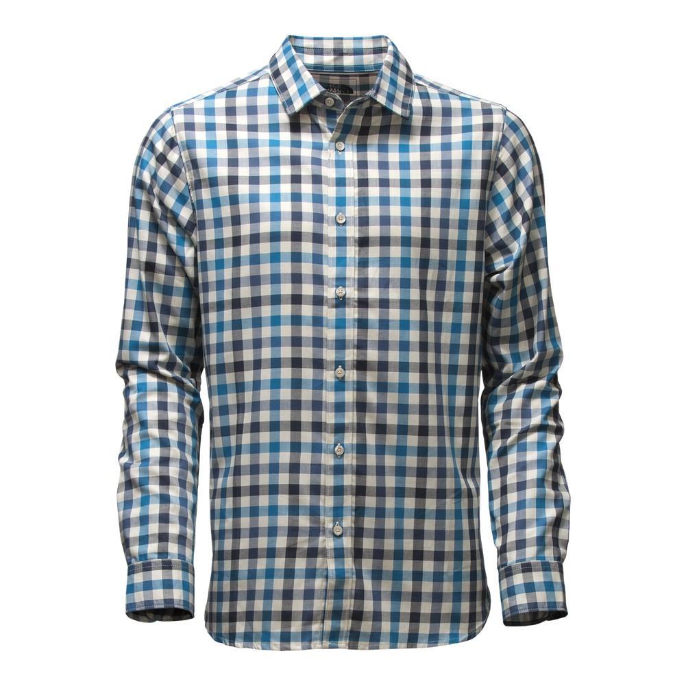 The North Face Long-Sleeve Hayden Pass Shirt Men's Banff Blue Plaid