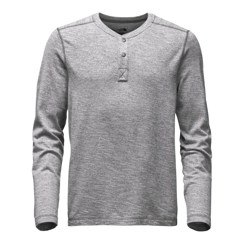 c50d68b2f0cb The North Face Long-Sleeve Copperwood Henley Shirt Men's Zinc Grey Heather