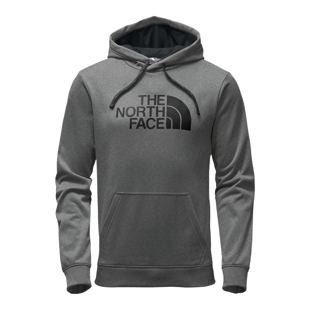 76dca3796d The North Face Surgent Half Dome Pullover Hoodie Men s TNF Medium Grey  Heather TNF Black