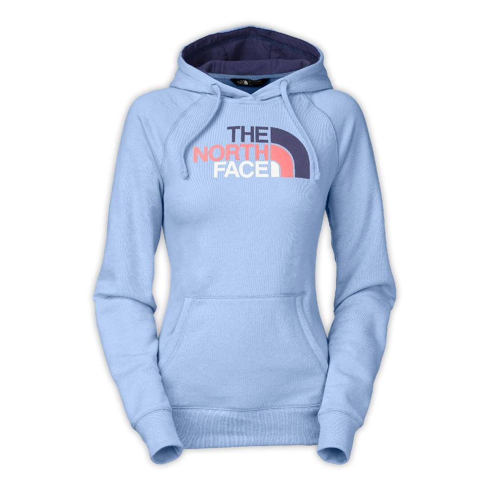 8a205ff0616d76 The North Face Half Dome Hoodie Women s Powder Blue Heather Blue Multi ...