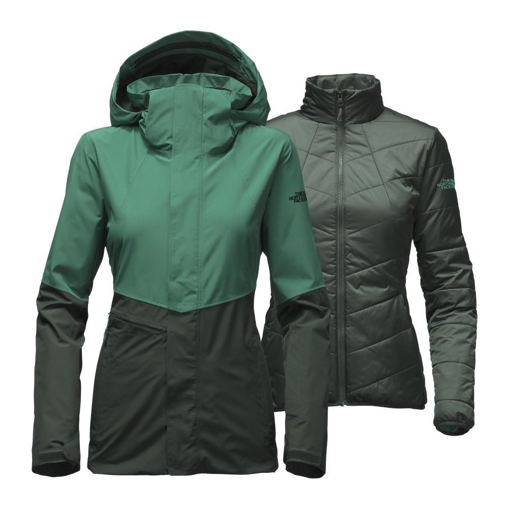 The North Face Garner Triclimate Jacket Women's Conifer Teal/Darkest Spruce  ...