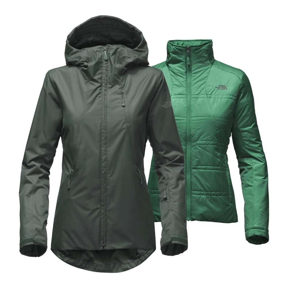 The North Face Clementine Triclimate Jacket Women s Darkest Spruce ... ee4c87bf6