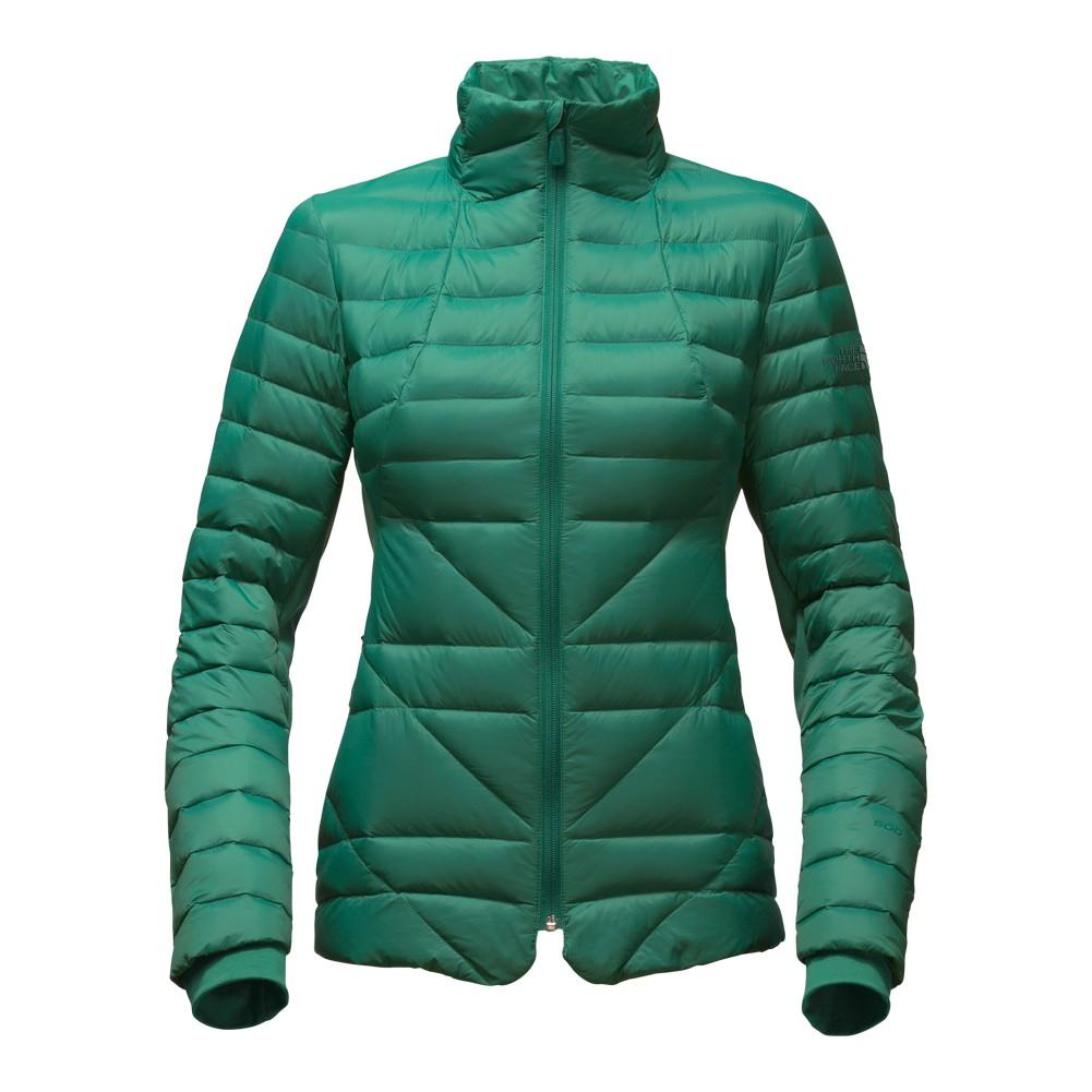8694c72210ca The North Face Lucia Hybrid Down Jacket Women s Conifer Teal ...