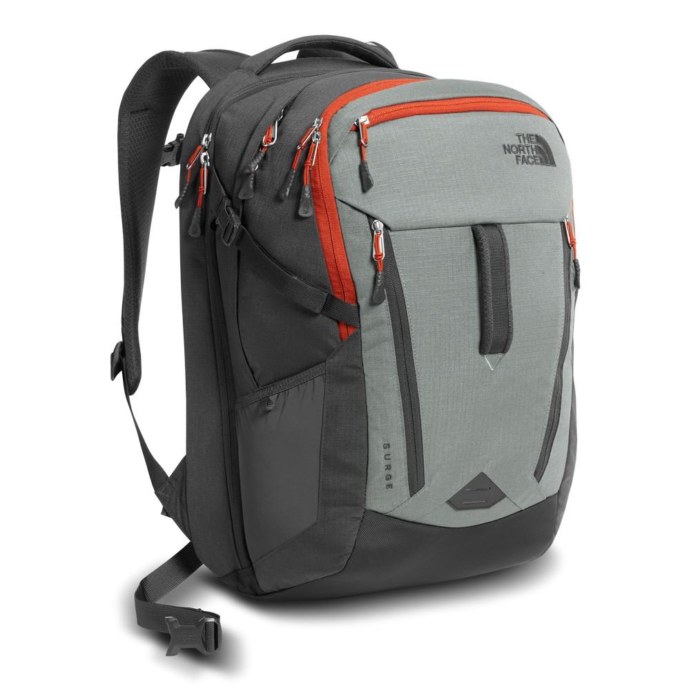 654e033f27 The North Face Surge Backpack Sedona Sage Grey/Asphalt Grey