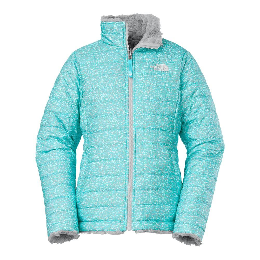 f86b45647 The North Face Reversible Mossbud Swirl Jacket Girls'