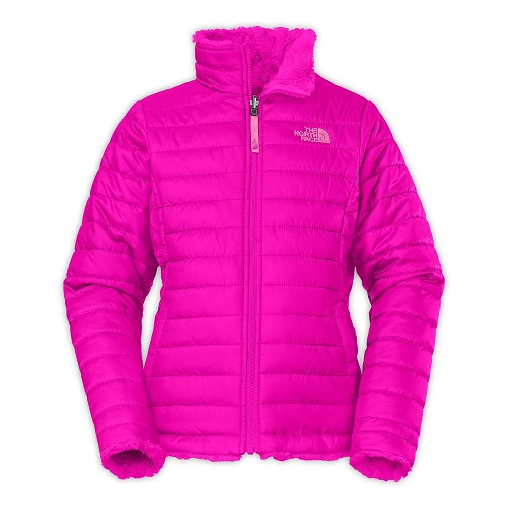 fb087430e0bf The North Face Reversible Mossbud Swirl Jacket Girls  Luminous Pink