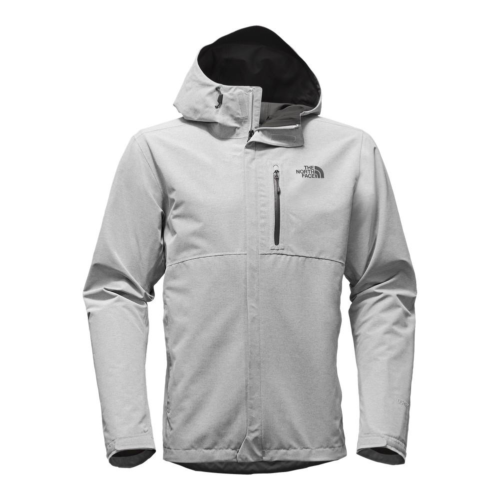 443880833310 The North Face Dryzzle Jacket Men s TNF Light Grey Heather