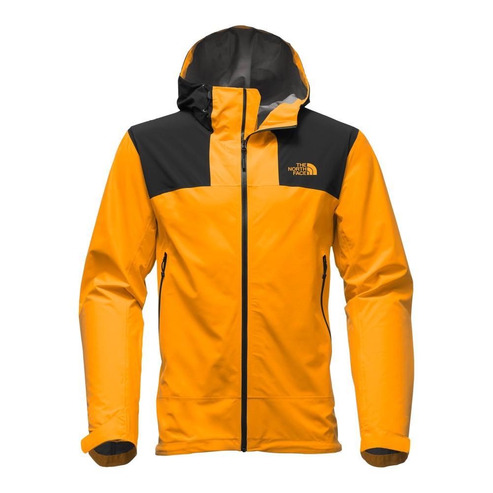 0b10f5a92e ... sale the north face leonidas 2 jacket mens zinnia orange tnf black  7b16f 88fe2