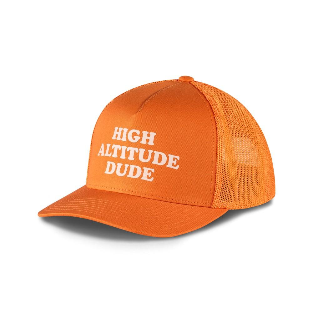 2a5db9cc5b875 The North Face Keep It Structured Trucker Hat Exuberance Orange ...