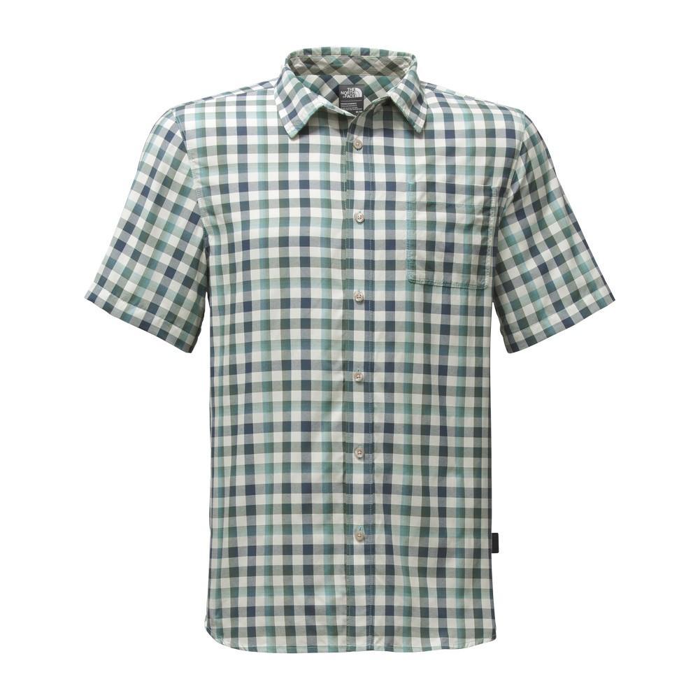 The north face short sleeve getaway shirt men 39 s for The north face short sleeve shirt