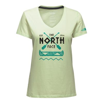 The North Face Short-Sleeve River's Bend V-Neck Tee Women's