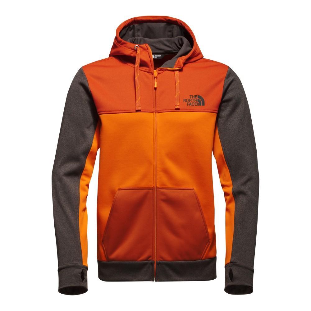 c992d146874a The North Face Surgent Block Full-Zip Hoodie Men s Exuberance  Orange Tibetan Orange ...