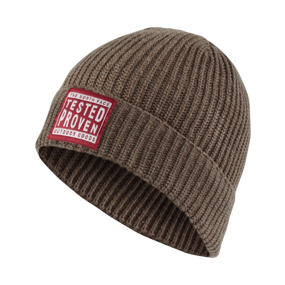 The North Face Pepper Dog Beanie Falcon Brown caee7857778