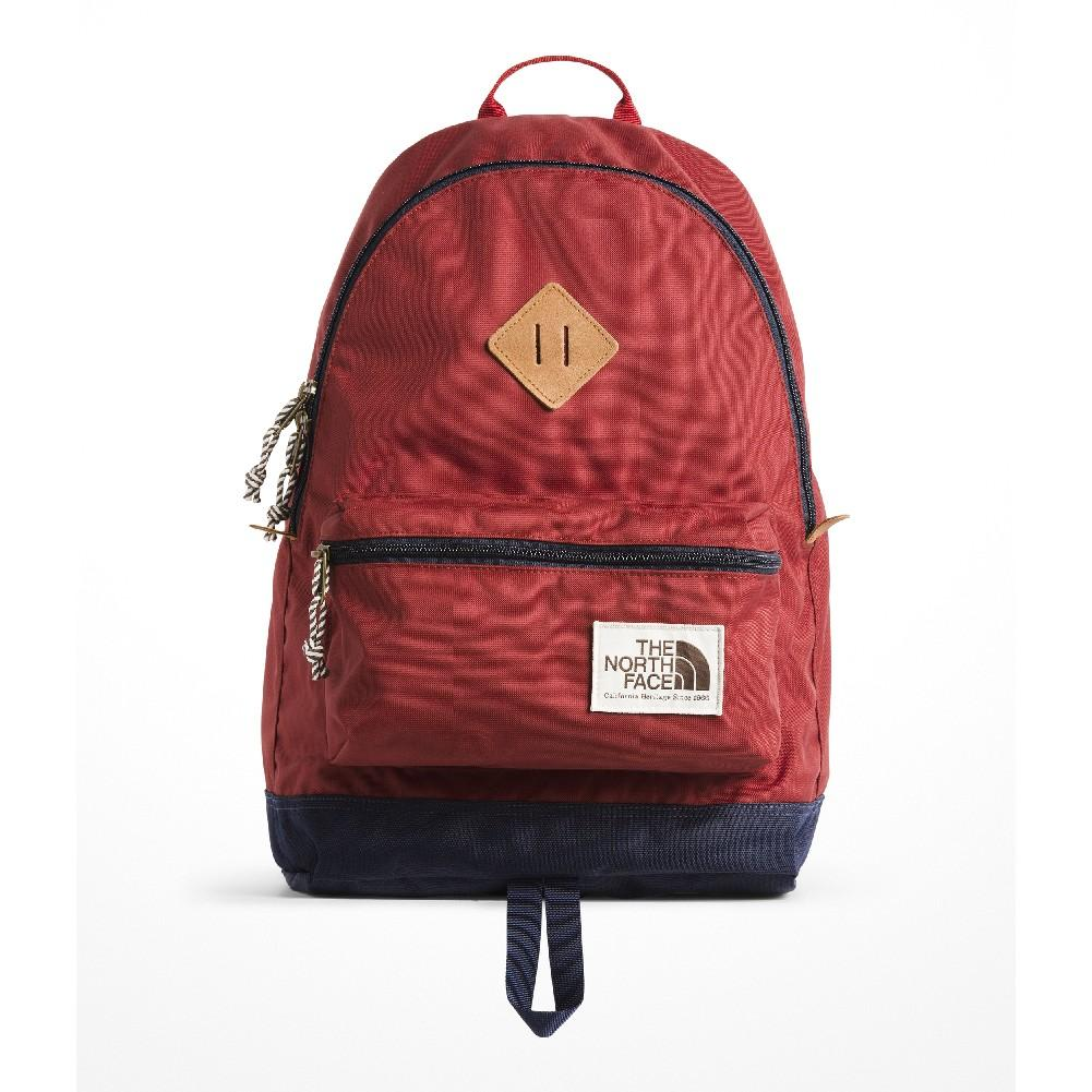 best loved c3ff9 b7180 The North Face Berkeley Backpack CALDERA RED URBAN NAVY ...