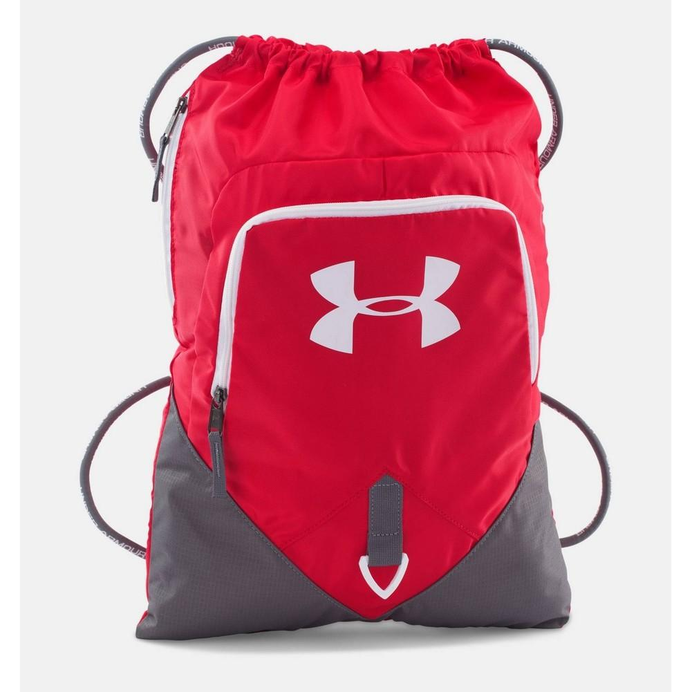 d31a69809248 Under Armour UA Undeniable Sackpack Red Graphite Black