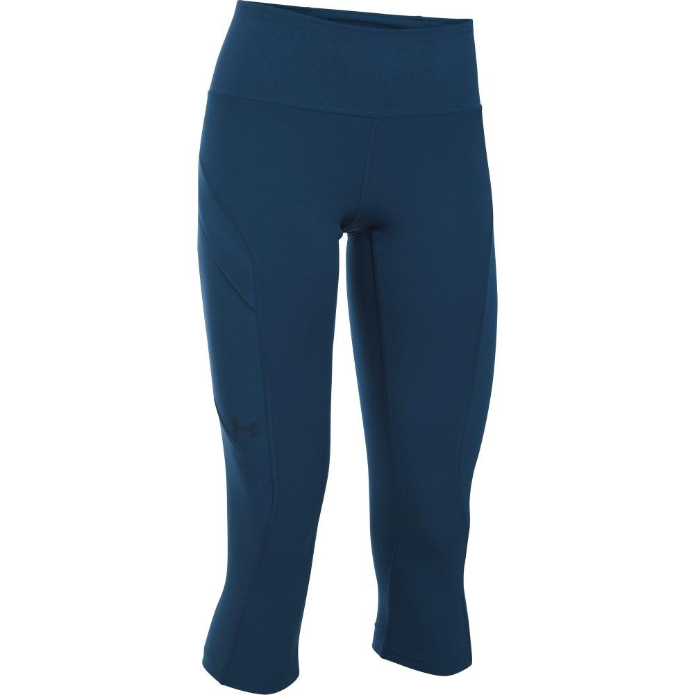 fe885857677 Under Armour Armourvent Trail Capri Hiking Pants Women s Blackout  Navy Academy ...