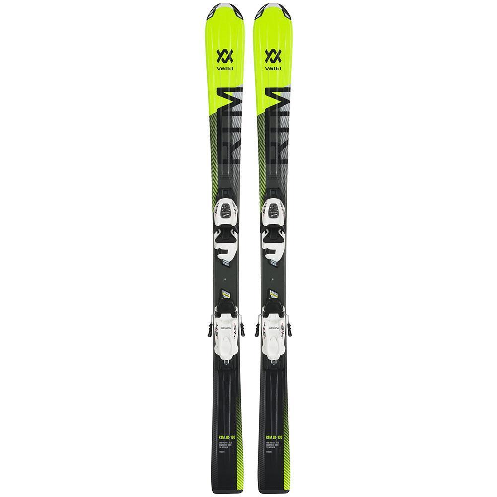 Volkl RTM System Skis With VMOTION 4.5 Bindings Kids