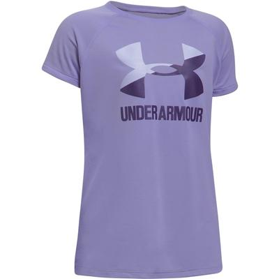 Under Armour Solid Big Logo Short-Sleeve Tee Girls'