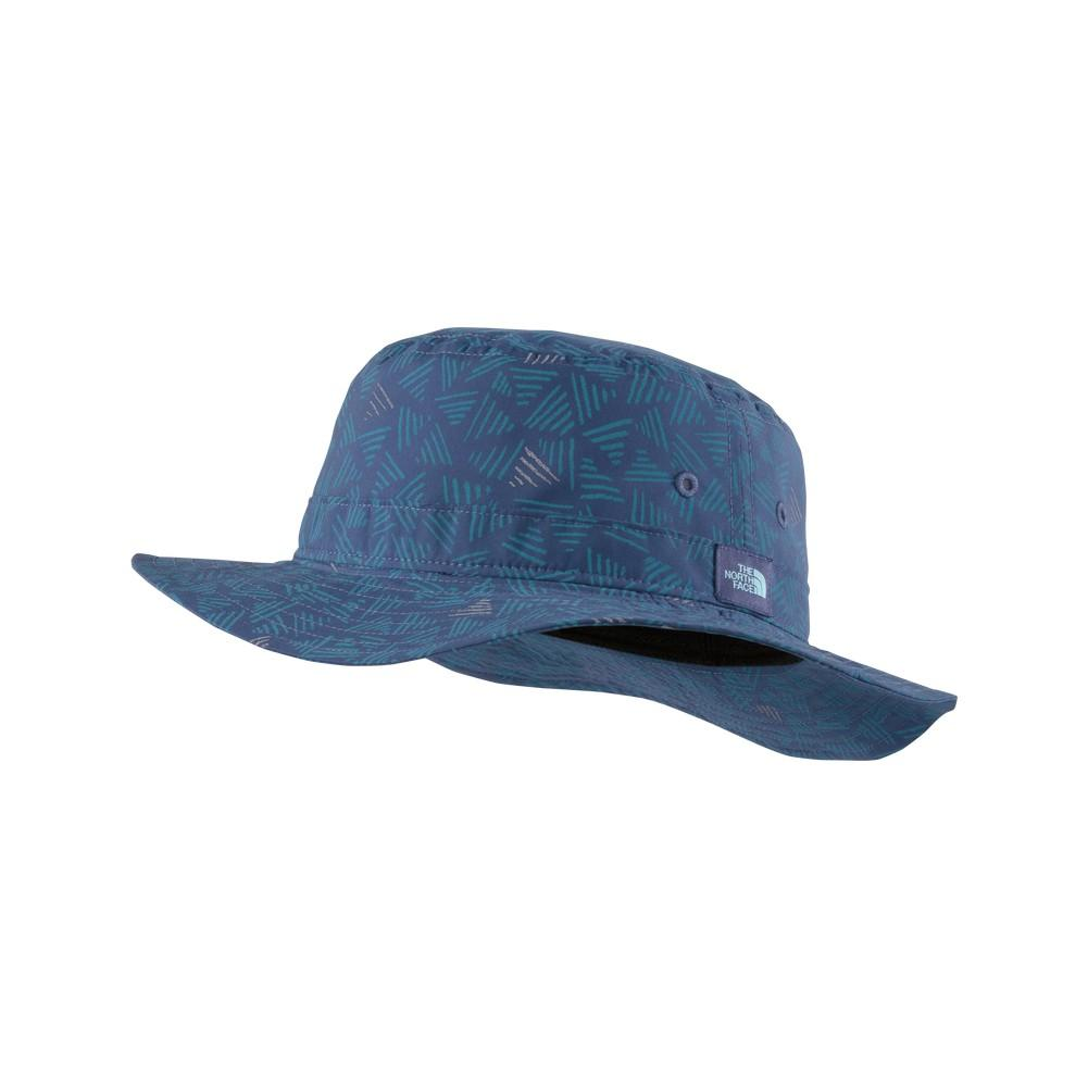 The North Face Canyon Explorer Hat Youth Coastal Fjord Blue Doodle  Reflective ... b0a826cee60