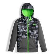 The North Face Thermoball Canyonlands Hoodie Boys' Graphite Grey Geo Plate Camo Print