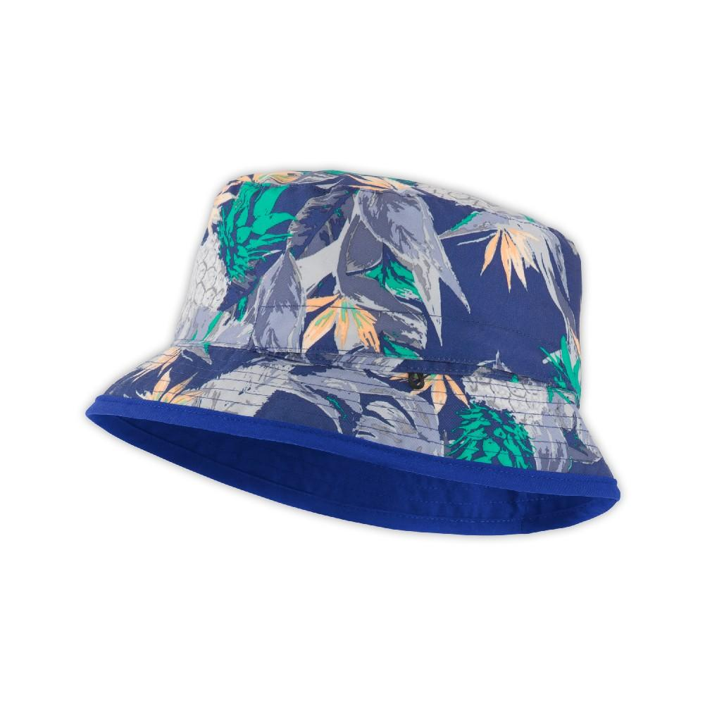 52a53f2b071fd ... Honeysuckle Pink Logo Phantom Print. The North Face Sun Stash Hat Youth  Marker Blue Pineapple Print