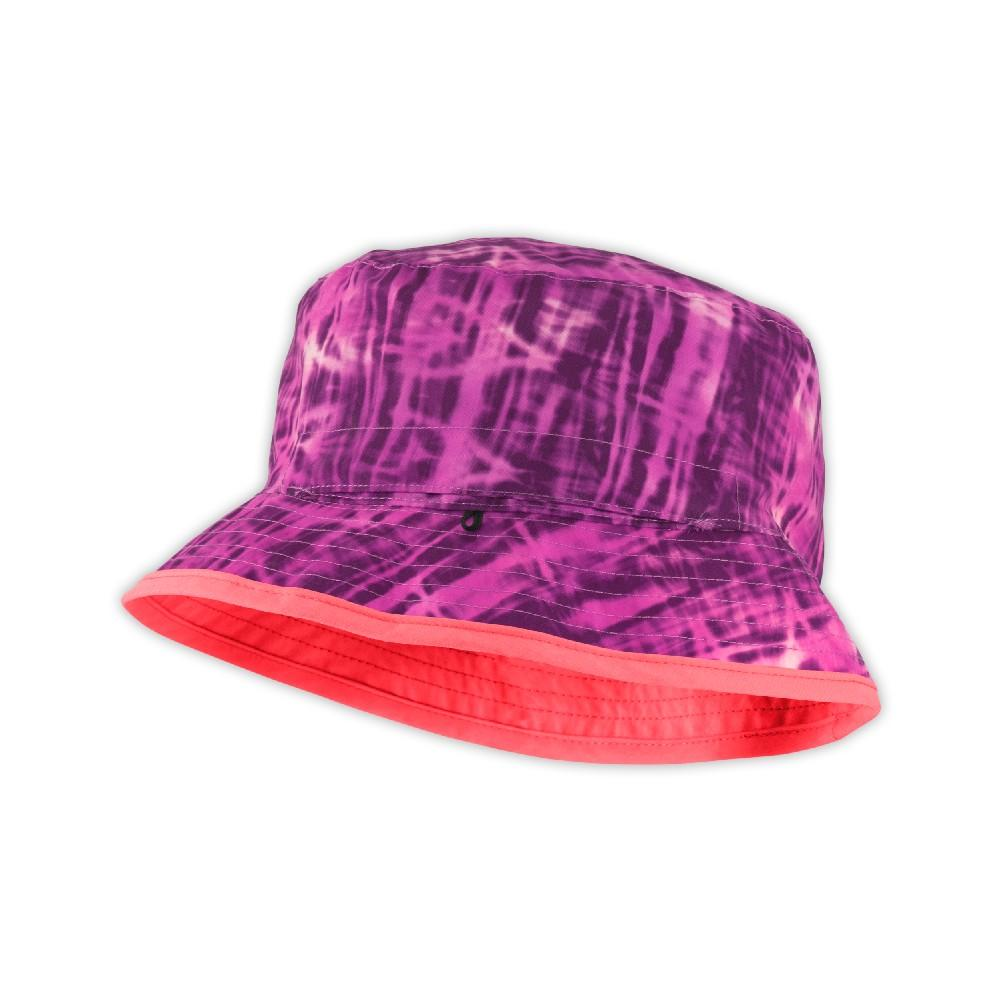 535ca3e29074c The North Face Sun Stash Hat Youth Sweet Violet Tropicali Print