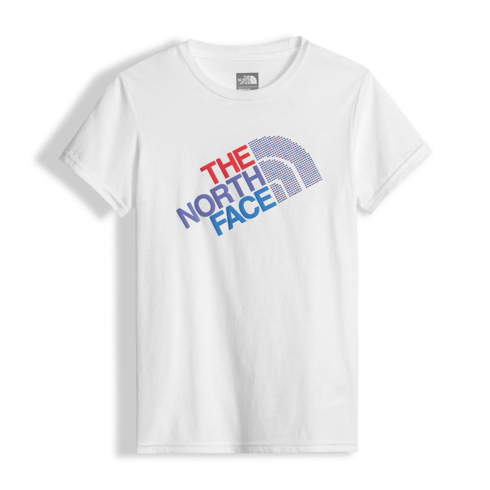 d6ef361ff The North Face Short Sleeve Graphic Tee Girls' TNF White/Paisley Purple ...