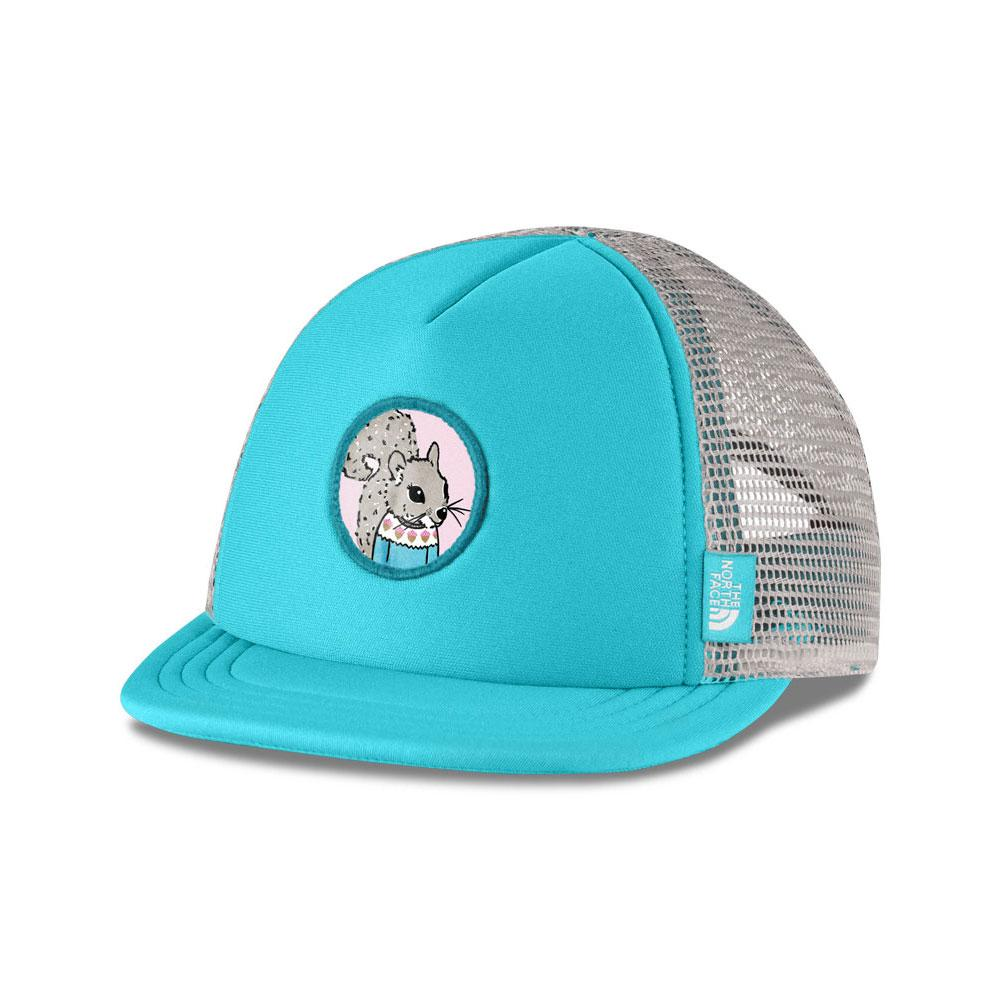 b37b6c05354b4 The North Face Mini Trucker Hat Infant  Toddler BLUE CURACAO