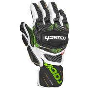 Reusch Race Tec 18 Giant Slalom Gloves WHITE