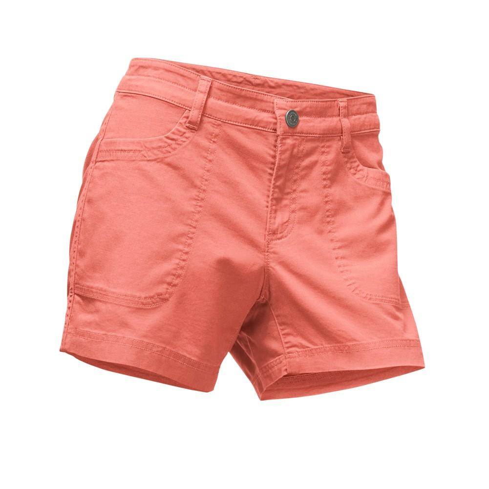 The North Face Boulder Stretch Shorts Women s Burnt Coral ... 333dab3d7
