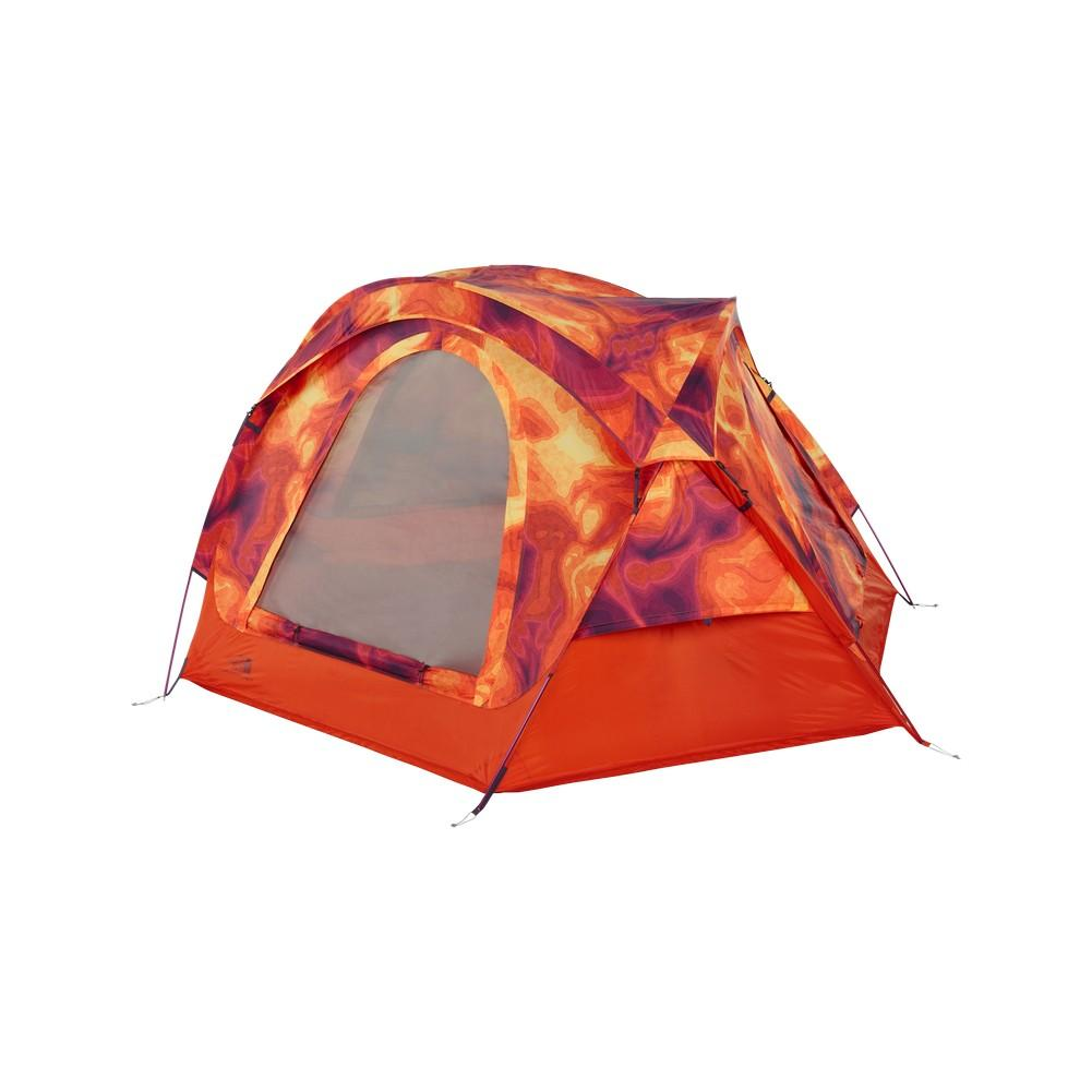 The North Face Homestead Dome 3 Tent Tibetan Orange Heat Map Print/High Rise Grey ...  sc 1 st  Bobu0027s Sports Chalet & The North Face Homestead Dome 3 Tent