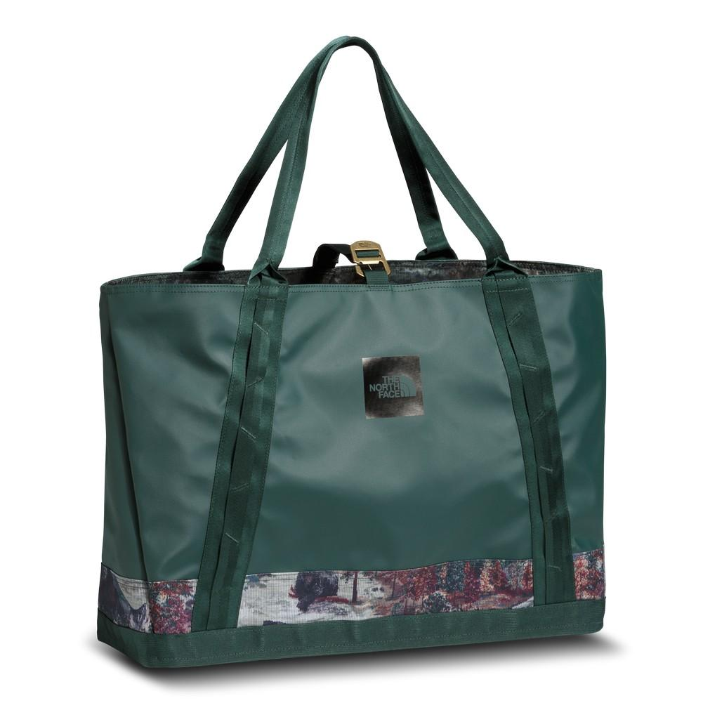 The North Face Homestead Road Toter Bag Darkest Spruce Yosemite Sofa Print