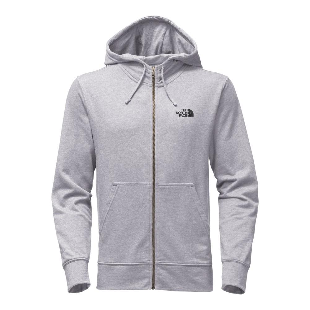 5ad21d4b7 The North Face Backyard Full-Zip Hoodie Men's TNF Light Grey Heather