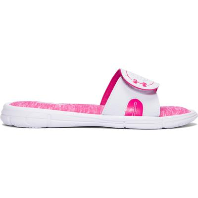 Under Armour Ignite Power In Pink VIII Slides Women's