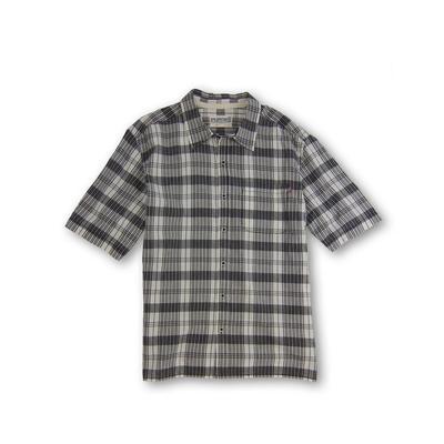 Purnell Short-Sleeved Classic Plaid Shirt SS Shirt Men's