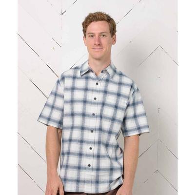 Purnell Short-Sleeved Carson Plaid Shirt SS Shirt Men's