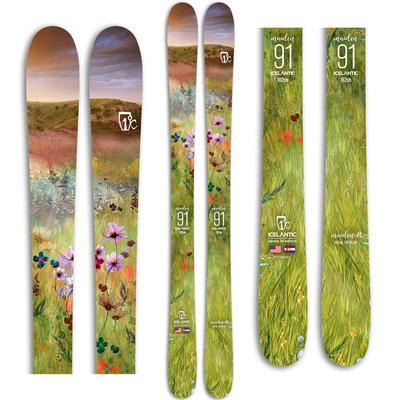 Icelantic Maiden 91 Skis Women's