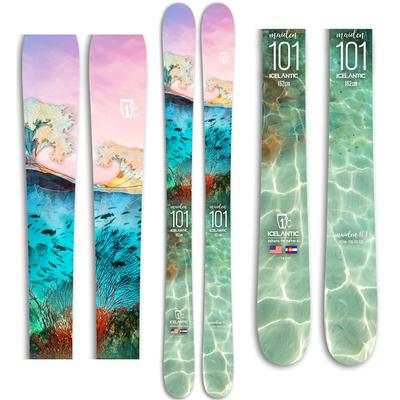 Icelantic Maiden 101 Skis Women's