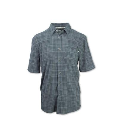 Purnell 4-Way Stretch Quick Dry Plaid SS Shirt Men's