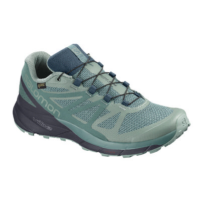 Salomon Sense Ride GTX Invisible Fit Trail-Running Shoes Women's