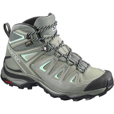 Salomon X Ultra 3 Wide Mid GTX Hiking Shoes Women's
