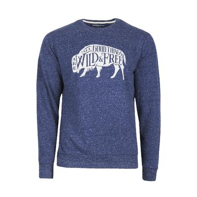 United By Blue Wild And Free Crew Pull Over Sweatshirt Men's