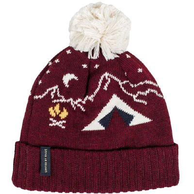 United By Blue Camp Pom Beanie
