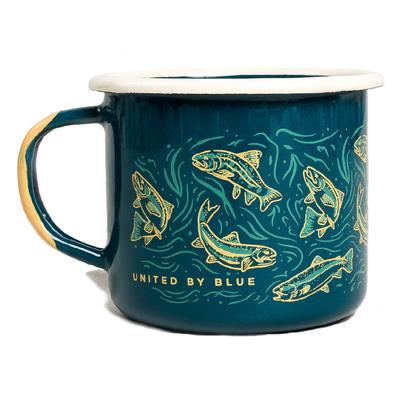 United By Blue Upstream Enamel Mug