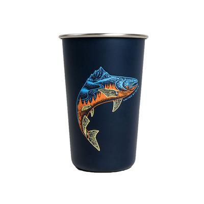 United By Blue Upstream 16oz Stainless Steel Tumbler