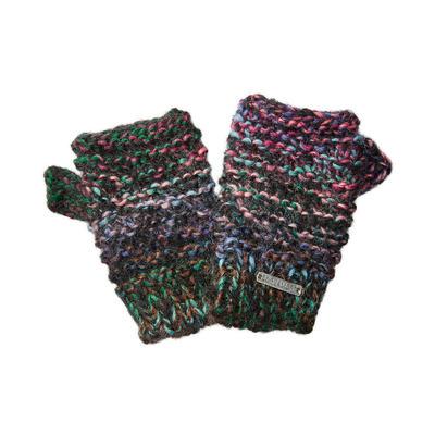 Screamer Tapestry Fingerless Gloves Women's