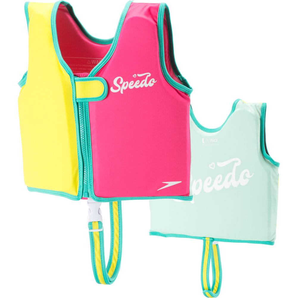 Speedo Begin To Swim Classic Swim Vest Girls '