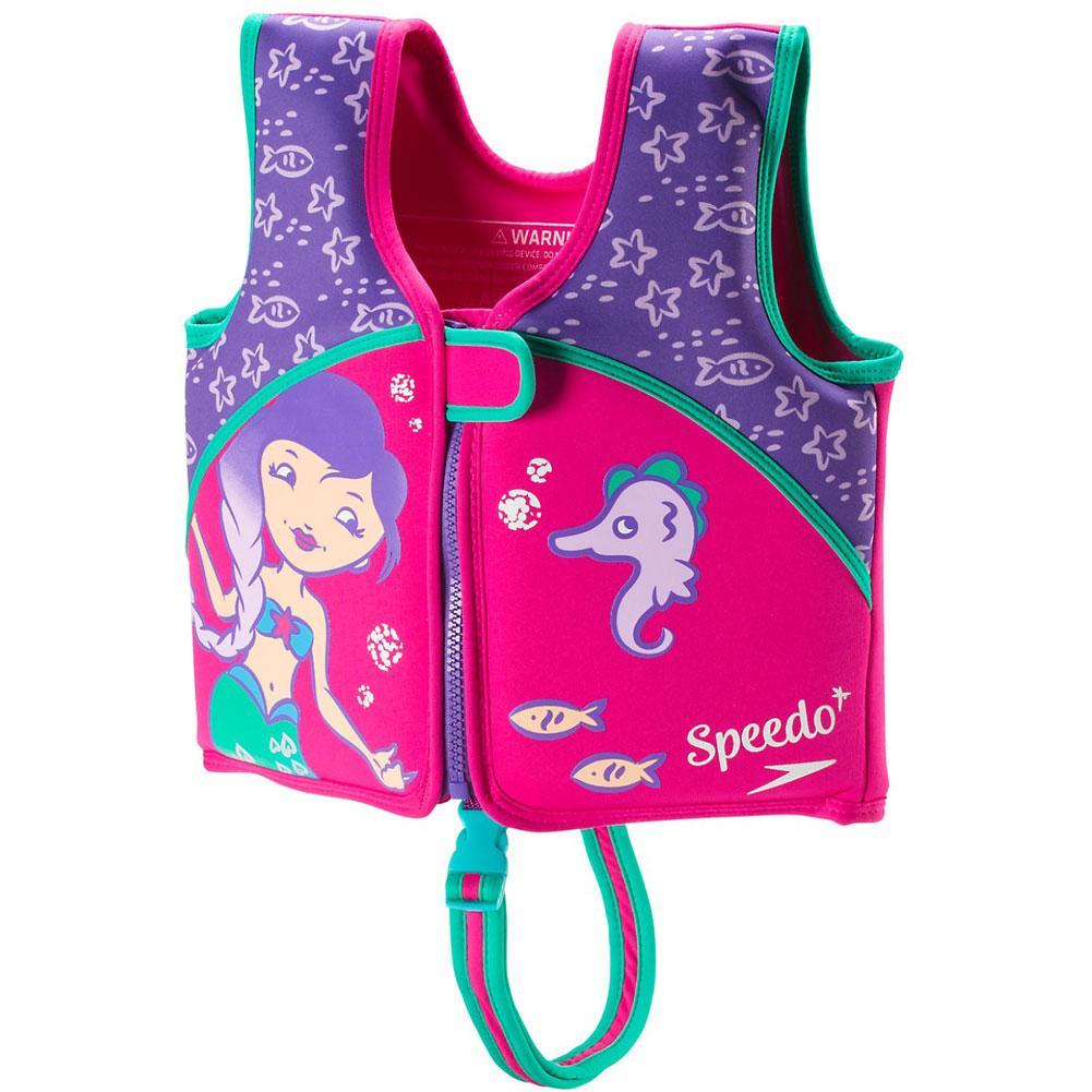 Speedo Begin To Swim Printed Neoprene Swim Vest Kids '